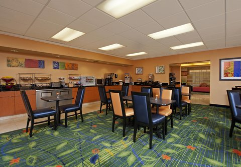 Fairfield Inn by Marriott Naperville - Breakfast Dining Area