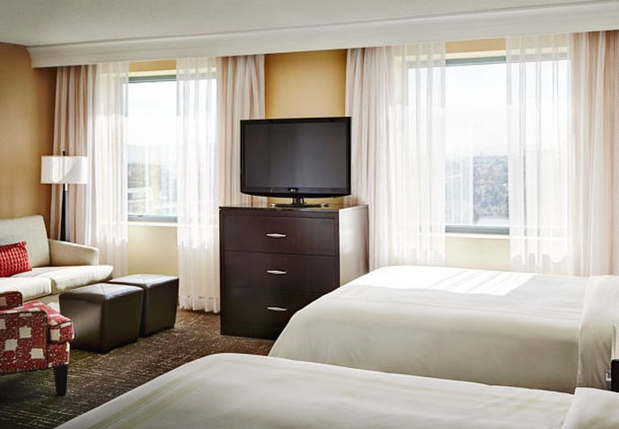 Marriott Las Vegas Suites Вид в номере