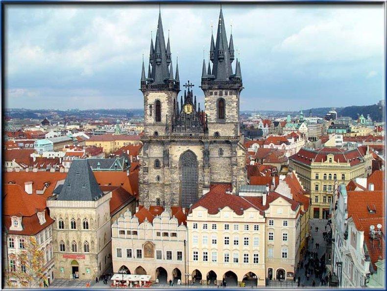 Ventana Hotel Prague Kilátás a szabadba