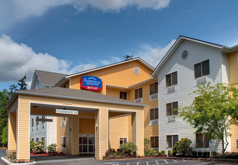Fairfield Inn Seattle Bellevue Außenansicht