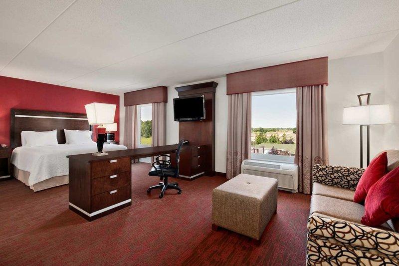 Hampton Inn Suites Detroit/Airport-Romulus Suite