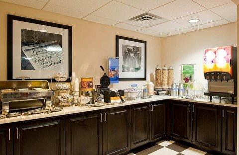 Hampton Inn - Suites Nashville-Vanderbilt-Elliston Place - On the House Breakfast