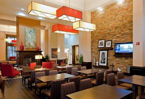 Hampton Inn - Suites Nashville-Vanderbilt-Elliston Place - Breakfast Dining Area
