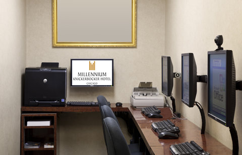 Millennium Knickerbocker Hotel - Business Center