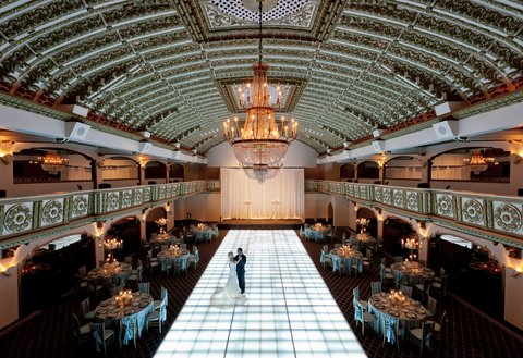 Millennium Knickerbocker Hotel - Crystal Ballroom  Wedding