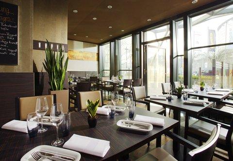 Frankfurt Marriott Hotel - CROSS - Dining Area