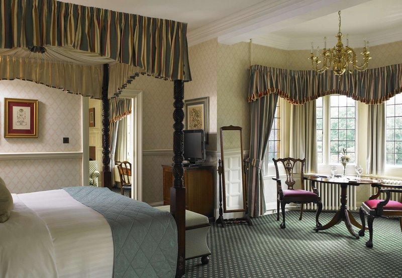 Hanbury Manor Marriott Hotel & Country Club Vista della camera