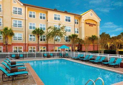 Residence Inn Sandestin at Grand Boulevard - Tropical Pool Setting