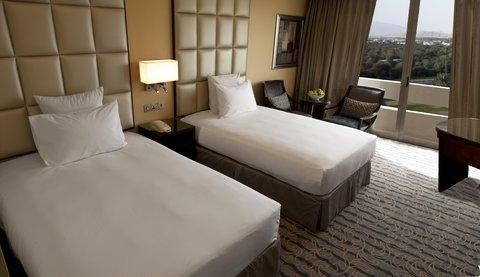 هيلتون العين - Twin Hilton Deluxe Room
