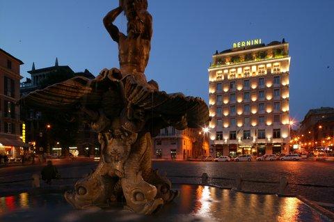 Hotel Bernini Bristol - Small Luxury Hotels of The World - Facade