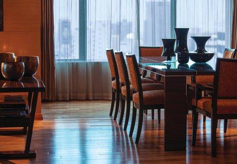 Renaissance Bangkok Ratchaprasong Hotel - Ratchapruek Suite - Dining Area