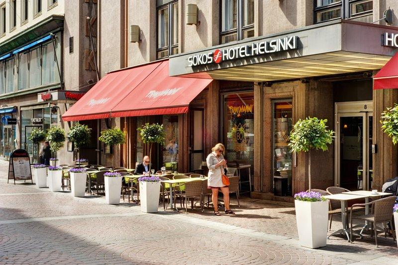 Sokos Hotel Helsinki Set udefra