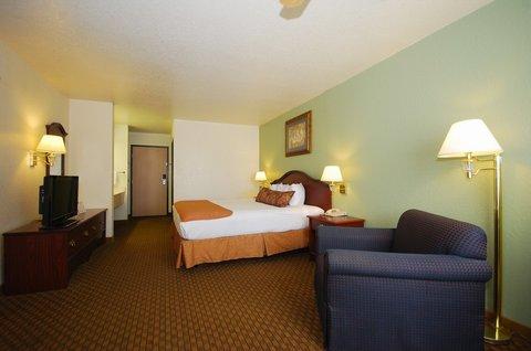 Best Western Santa Fe Inn Hotel - King Guest Room