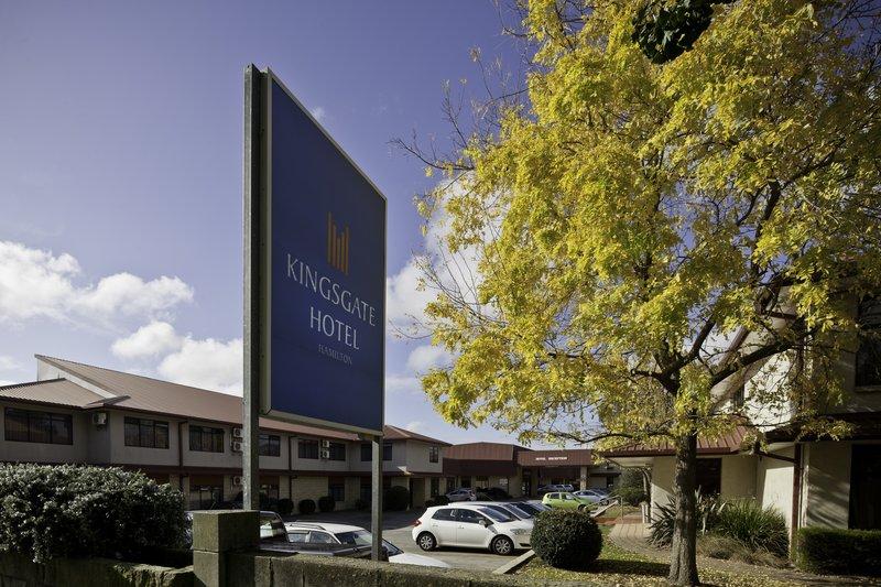 Kingsgate Hotel Hamilton Pohled zvenku