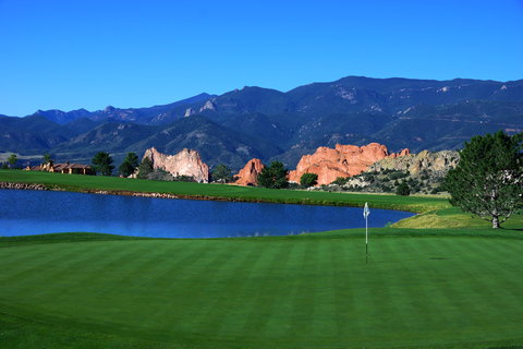 Garden of the Gods Club and Resort Colorado Springs - Hole 3 West