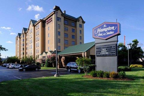 Hampton Inn - Suites Nashville-Vanderbilt-Elliston Place - Exterior