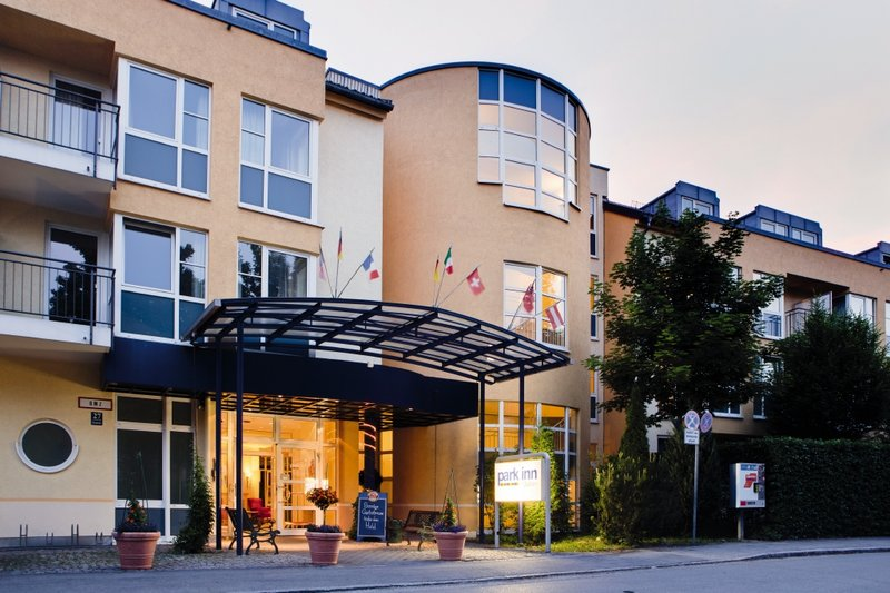 Park Inn by Radisson München Ost Pohled zvenku