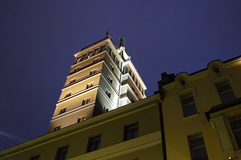 Solo Sokos Hotel Torni Außenansicht