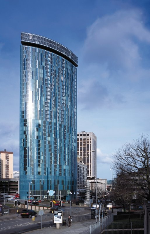 Radisson Blu Hotel Birmingham Вид снаружи