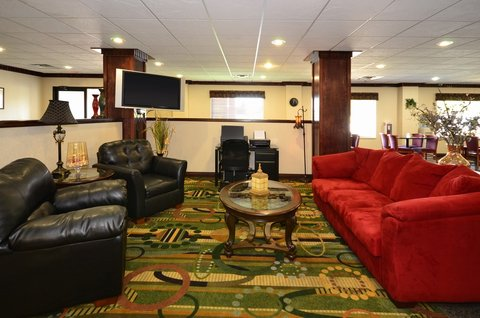 BEST WESTERN Big Spring Lodge - Lobby