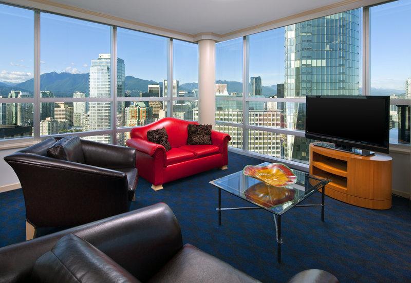 Sheraton Vancouver Wall Centre Suite