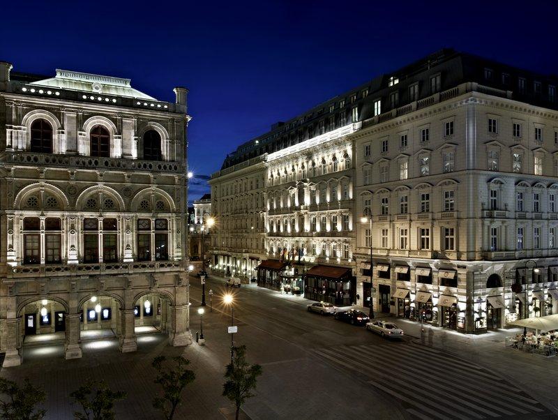 Hotel Sacher Wien Außenansicht