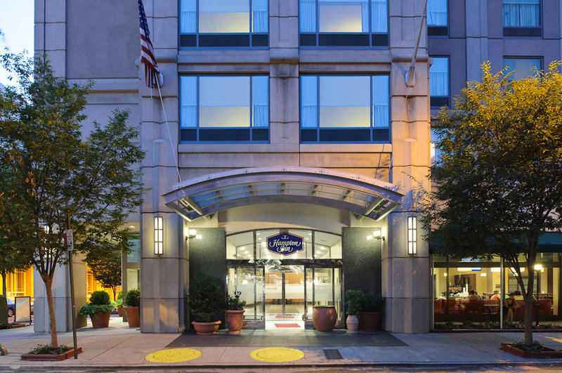 Hampton Inn Philadelphia-Center City-Convention Ctr Kilátás a szabadba