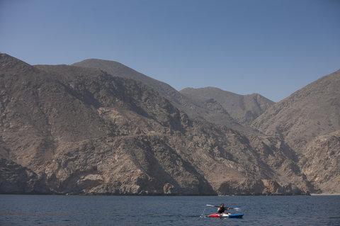 Six Senses Zighy Bay - Kayaking
