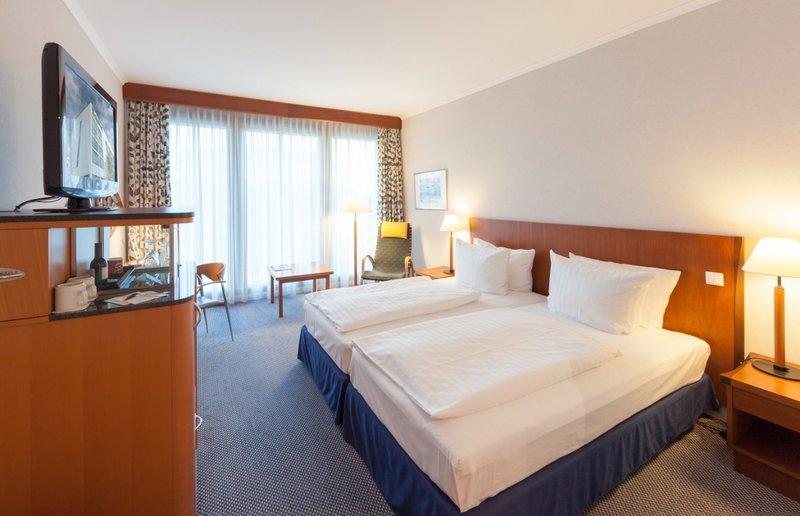 Radisson Blu Hotel Hannover Szobakilátás