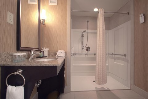 Embassy Suites Columbus - Airport - Accessible Shower