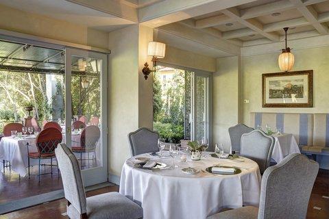Villa La Massa - Il Verrocchio Restaurant - inside