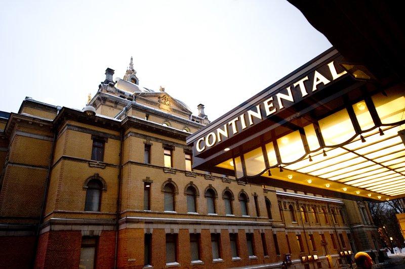 Hotel Continental Set udefra