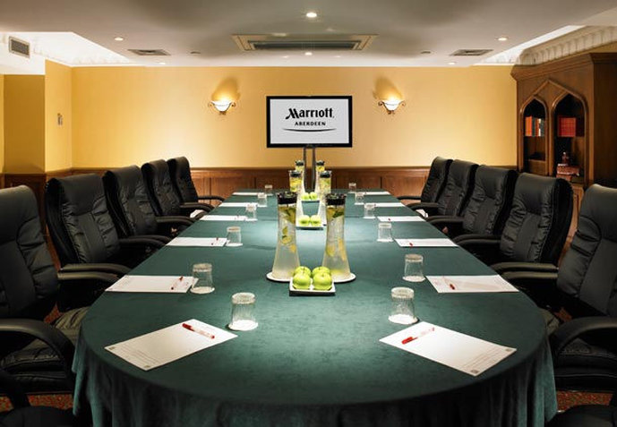Marriott Aberdeen Hotel Meeting room