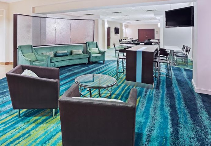 SpringHill Suites by Marriott Austin North Lobi