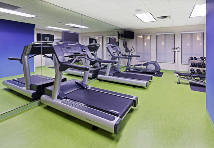 SpringHill Suites by Marriott Austin North Fitness salonu
