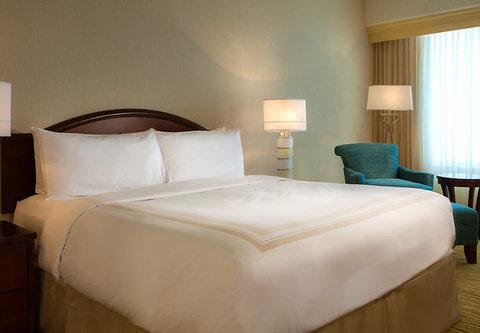 Cincinnati Kingsgate Conference Center Hotel - Presidential Suite Sleeping Area