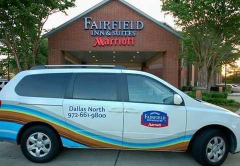 Fairfield Inn & Suites Dallas North by the Galleria - Shuttle