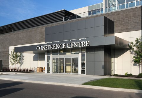 Courtyard By Marriott Calgary Airport Hotel - Conference Centre Entrance