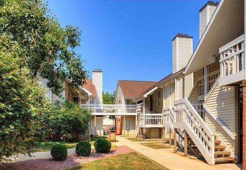 Residence Inn Harrisburg Hershey - Outdoor Courtyard