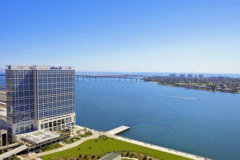 Hilton San Diego Bayfront Set udefra