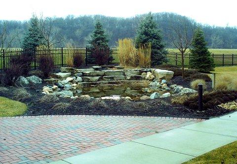 Courtyard Dayton-University of Dayton - Outdoor Space