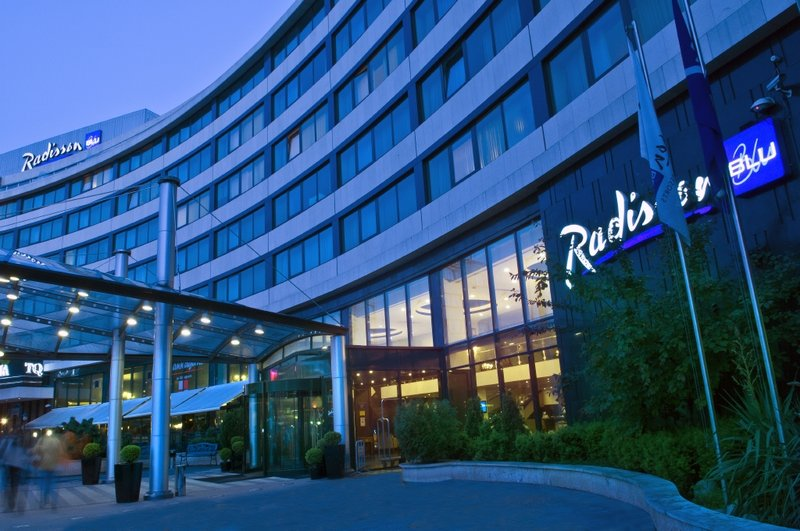 Radisson Blu Grand Hotel Sofia Vista exterior
