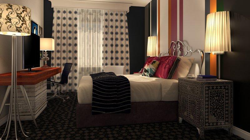Hotel Monaco Szobakilátás