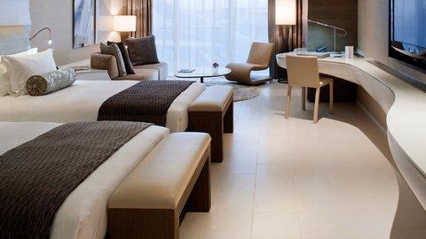 Yas Viceroy Abu Dhabi - Deluxe Twin Room
