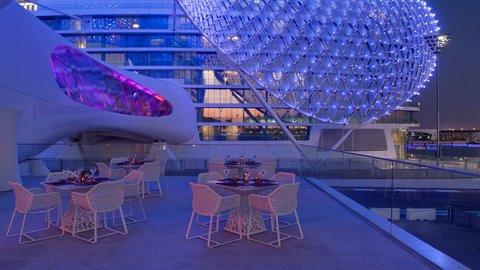 Yas Viceroy Abu Dhabi - Terrace