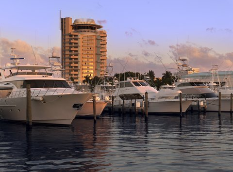 Hyatt Regency Pier Sixty-Six - SIG Yachts Shelby1107