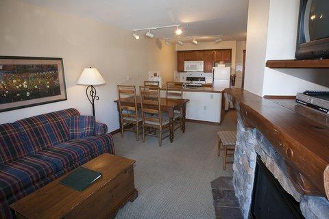 Rimfire Lodge - Living Room-Kitchen