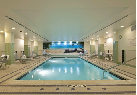 SpringHill Suites Chicago O'Hare - Indoor Pool