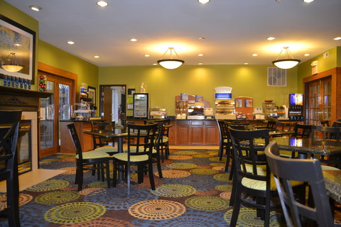 Holiday Inn Express & Suites BLOOMINGTON CITY CENTER-NORMAL - Breakfast Area