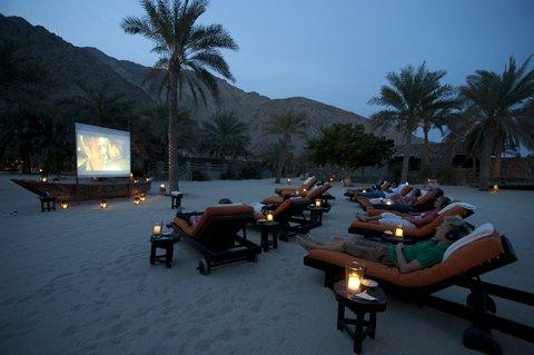 Six Senses Zighy Bay - Cinema Paradiso